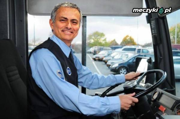 Czyżby Mourinho powoli wyjeżdżał swoim busem z Manchesteru?