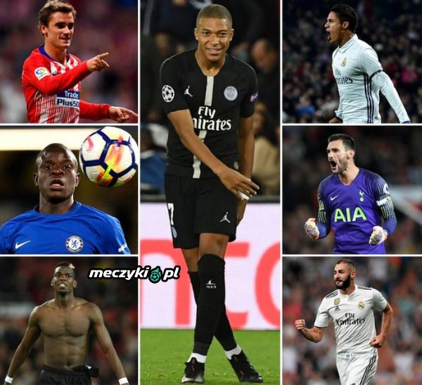 Francuscy piłkarze nominowani do Złotej Piłki