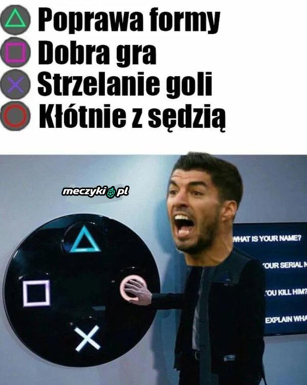 Prosty wybór dla Suareza