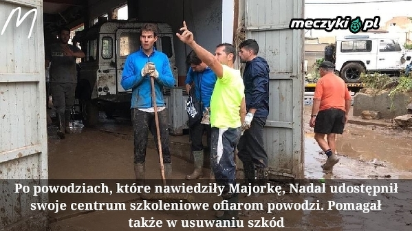 Nadal pomaga po powodziach na Majorce