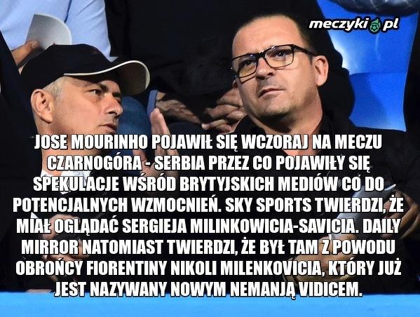 Mourinho zawitał na Bałkany