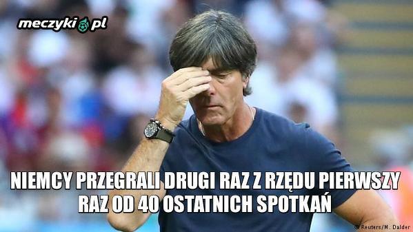 Niemcom ostatnio nie idzie zbyt dobrze