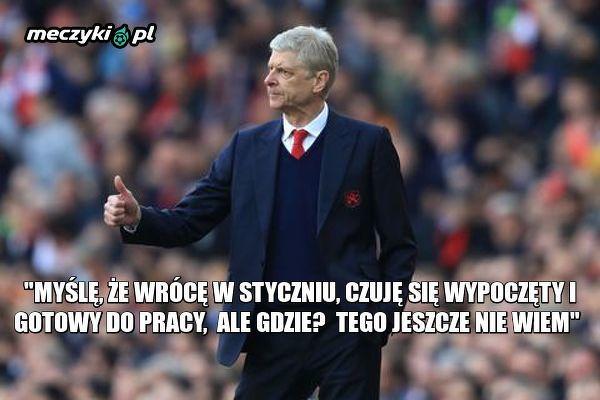 Arsène Wenger gotowy by wrócić