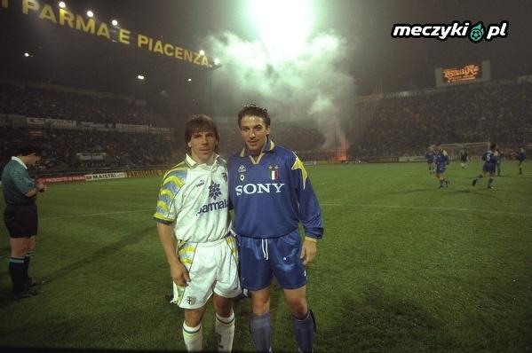 Gianfranco Zola i Alessandro Del Piero 1995 rok