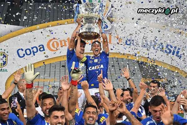 Cruzeiro Belo Horizonte po raz szósty w historii z Pucharem Brazylii!