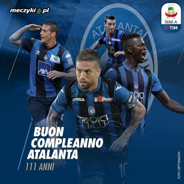 Atalanta Bergamo świętuje dzisiaj 111. urodziny