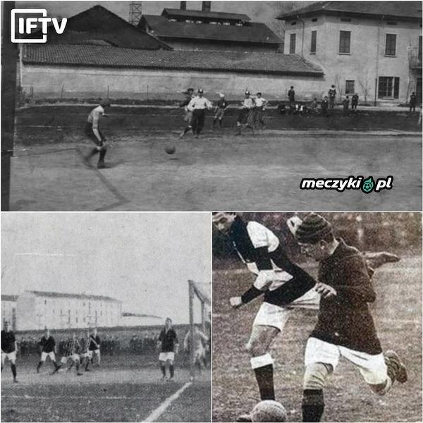 110 lat temu rozegrano pierwsze derby Mediolanu
