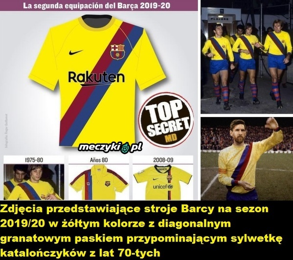 Świetny projekt koszulek Barcelony na sezon 2019/20