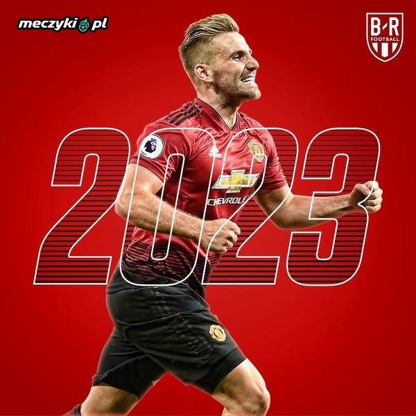 Luke Shaw z nowym kontraktem do 2023 roku