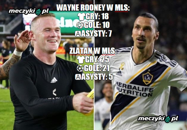 Rooney i Ibra w MLS