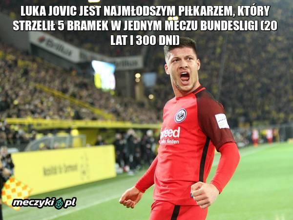 Luka Jovic z rekordem