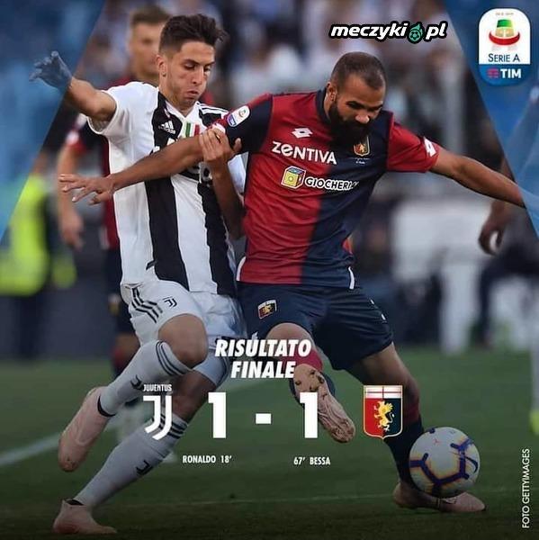 Genoa zatrzymuje rozpędzony Juventus