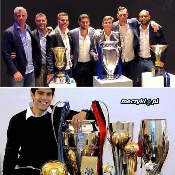 Trofea Kaki i piłkarzy Interu
