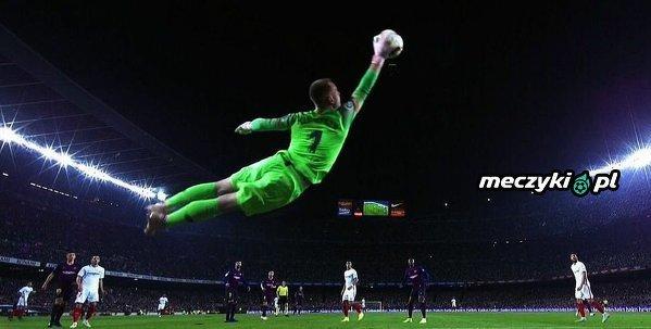 Chyba najlepsze zdjęcie z meczu Barcelona - Sevilla