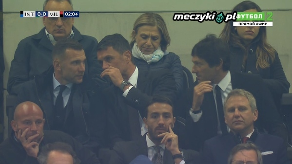 Legendy Milanu na trybunach