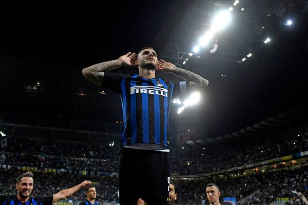 Emocjonująca końcówka w derbach Mediolanu! Icardi dał zwycięstwo Interowi! [WIDEO]