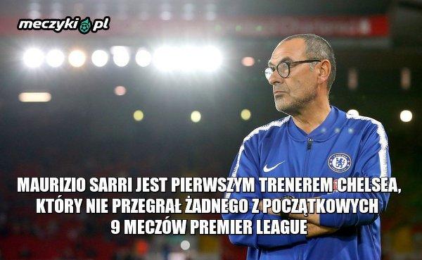 Sarri rekordzistą Chelsea