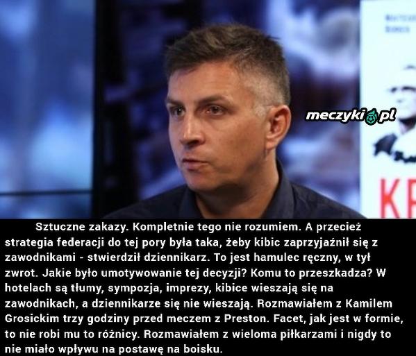 Mateusz Borek o ograniczeniu dostępu do dziennikarzy przez PZPN
