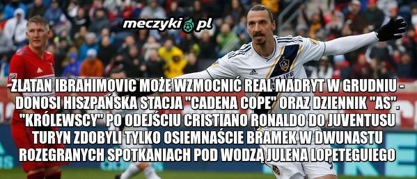 Zlatan Ibrahimović trafi do Realu Madryt?
