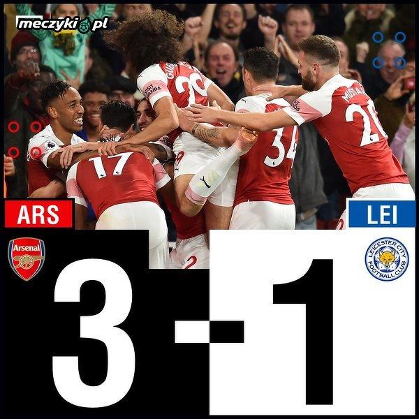 Leicester pokonany przez Arsenal
