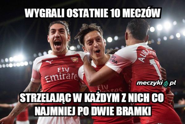 Wybitna forma Arsenalu