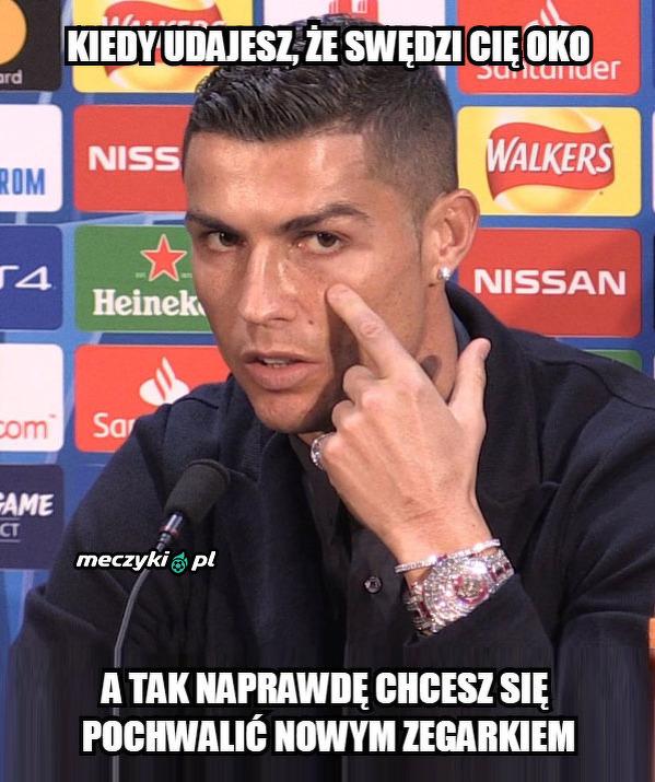 Sprytna zagrywka Ronaldo