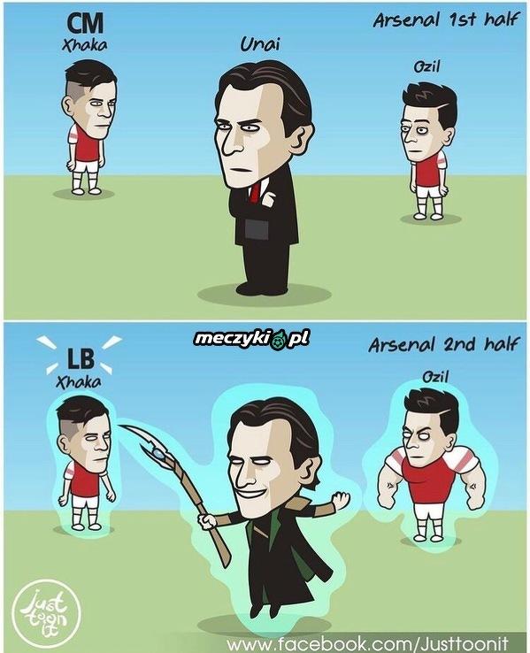Arsenal znów pokazał swoją moc