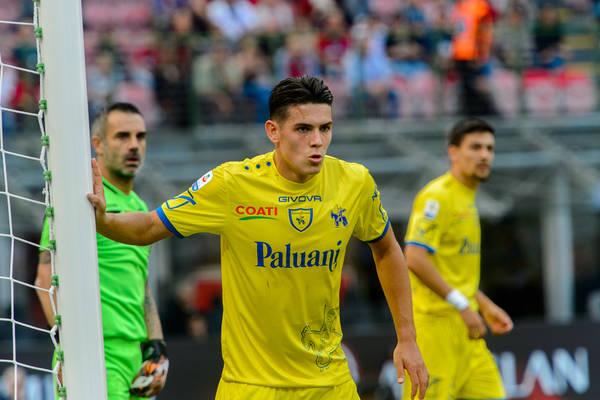 Porażka Chievo w Pucharze Włoch, grał Stępiński