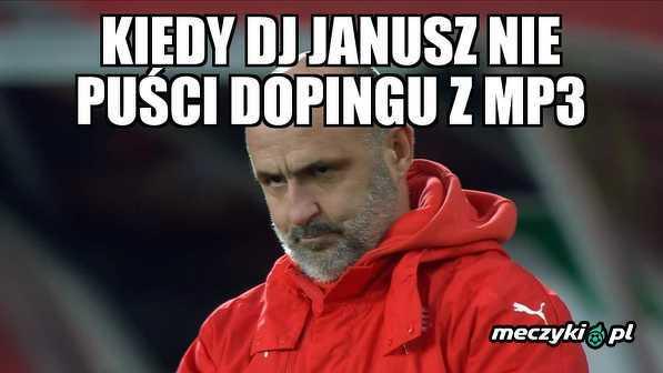 Doping w Ekstraklasie