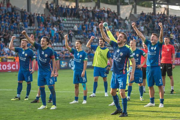 Miedź Legnica wyeliminowała Śląsk Wrocław z Pucharu Polski