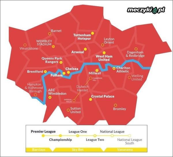 Najlepsze kluby do podłączenia Londynu
