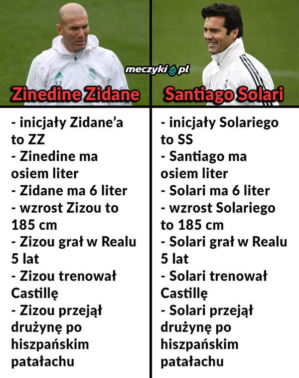 Powtórzy sukcesy Zidane'a?