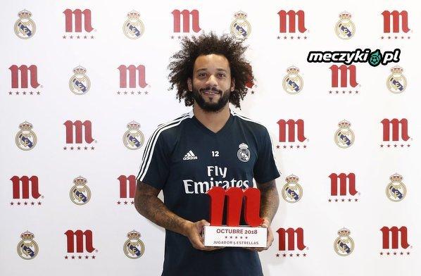 Marcelo został najlepszym piłkarzem Realu w październiku
