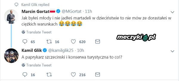 Glik skomentował ostatni wpis Marcina Gortata na twitterze