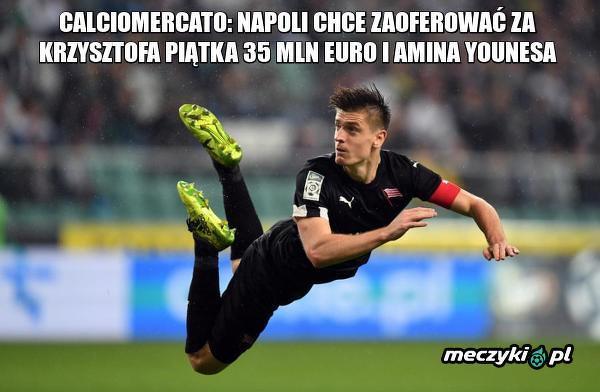 Ciekawa oferta Napoli za Piątka