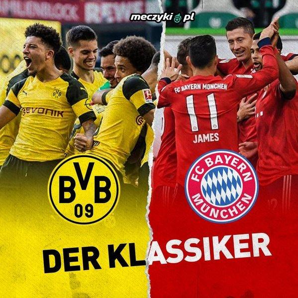 """Jutrzejszy """"Der Klassiker"""" pomiędzy BVB a Bayernem zostanie pokazany w ponad 200 krajach!"""