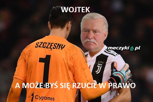 Wałęsa podpowiedział Szczęsnemu