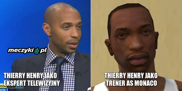 Praca trenerska Thierry'emu nie służy