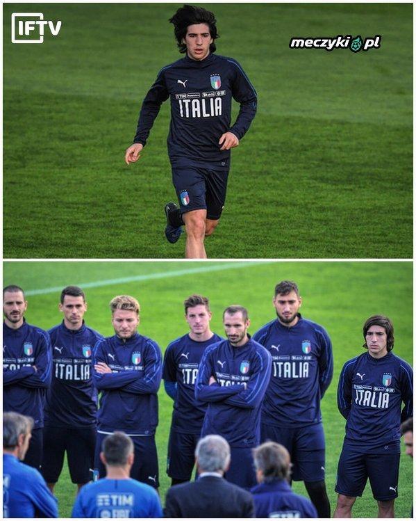 Sandro Tonali, 18-latek grający w Serie B, który został powołany do pierwszej reprezentacji Włoch