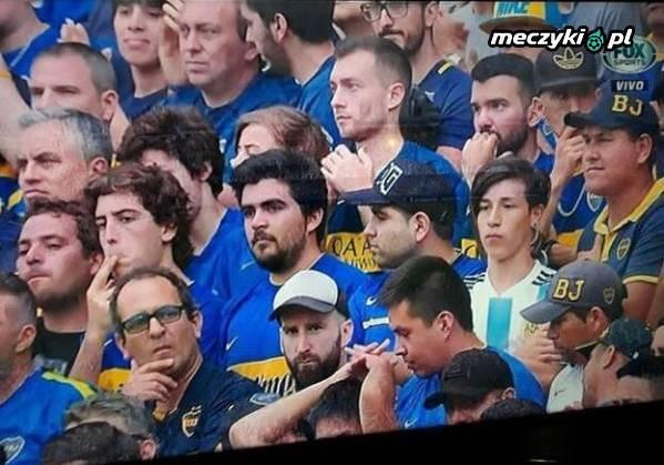 Sobowtór Messiego na meczu Boca Juniors