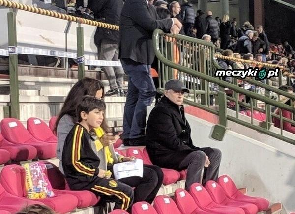 Jose Mourinho dzisiaj na meczu Belgia - Islandia