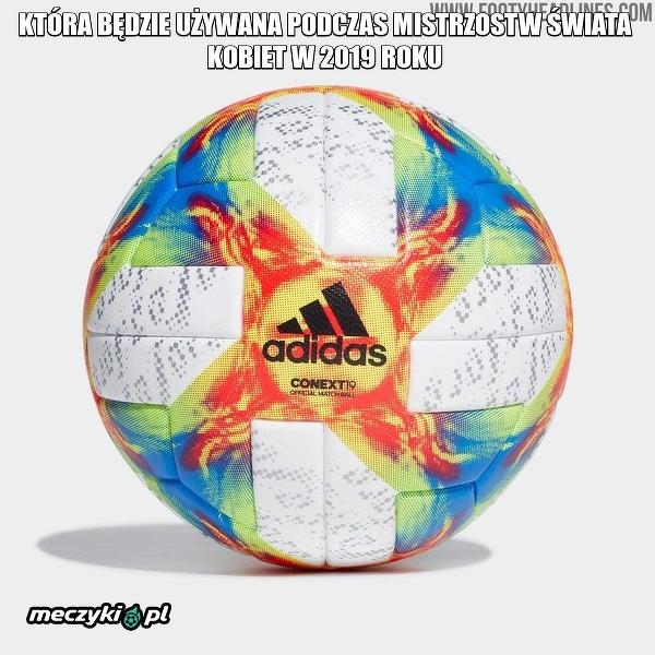 Adidas zaprezentował piłkę Conext 19