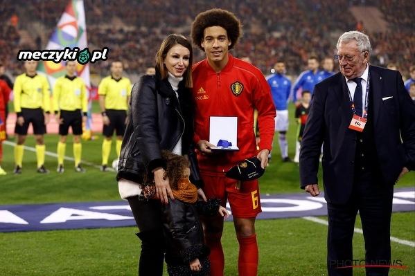 Axel Witsel zagrał 100. mecz w reprezentacji Belgii