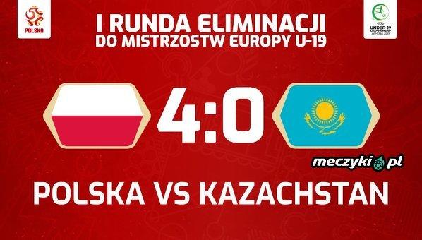 Zwycięstwo reprezentacji U19 w dzisiejszym meczu z Kazachstanem