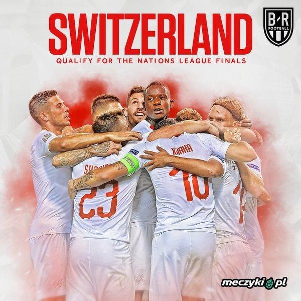 Szwajcaria zakwalifikowała się do finału Ligi Narodów