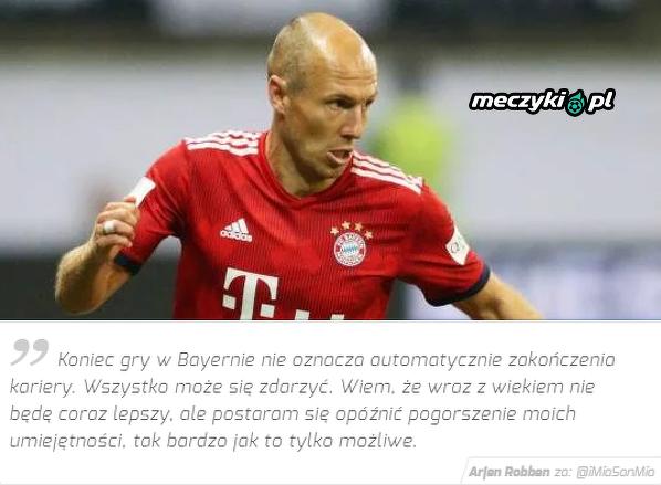 Robben postara się utrzymać formę jak najdłużej