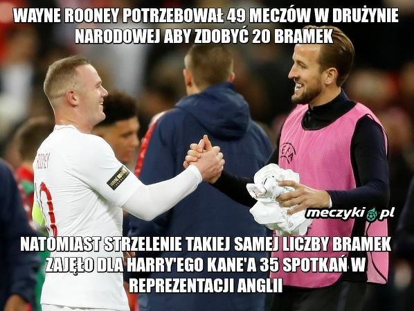 Tym razem Kane okazał się lepszy od Rooneya