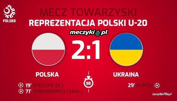 Reprezentacja U20 wygrała z Ukrainą