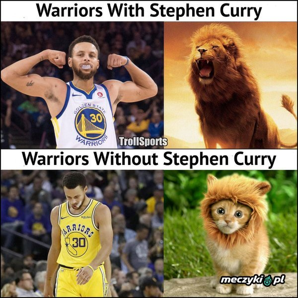 Stephen Curry wiele znaczy dla Golden State Warriors