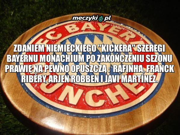 Czterech piłkarzy na wylocie z Bayernu